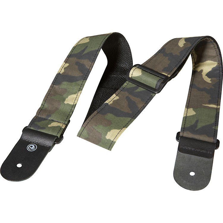 D'Addario Planet Waves Woven Camouflage Guitar Strap Camouflage