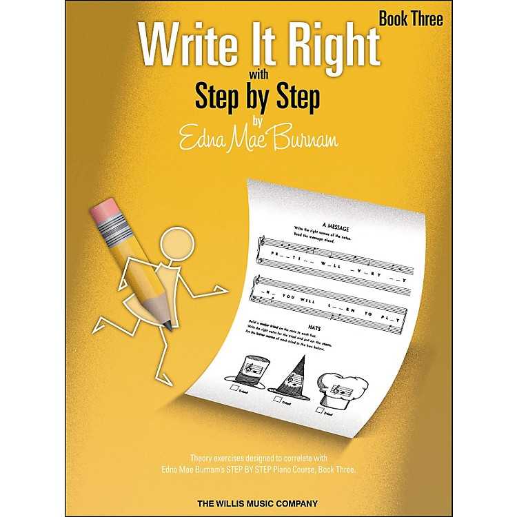 Willis Music Write It Right Book 3