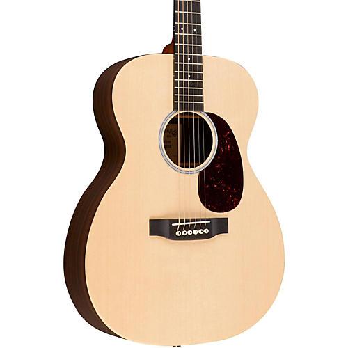 Martin X Series Custom 2016 000X1AE Rosewood HPL Auditorium Acoustic-Electric Guitar Natural