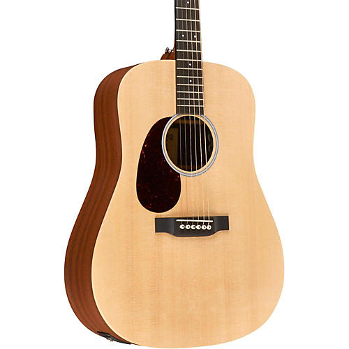 martin x series custom dx1ae l dreadnought left handed acoustic electric natural musician 39 s friend. Black Bedroom Furniture Sets. Home Design Ideas