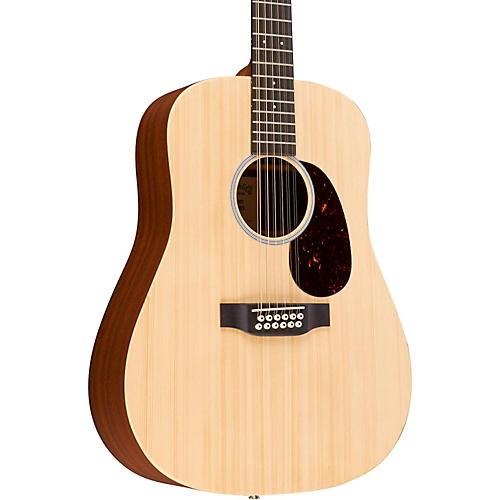 Martin X Series Custom X1D12E-CST Dreadnought 12-String Acoustic-Electric Guitar