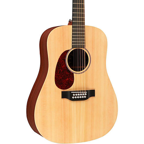 Martin X Series D12X1AE Left-Handed Acoustic-Electric Guitar