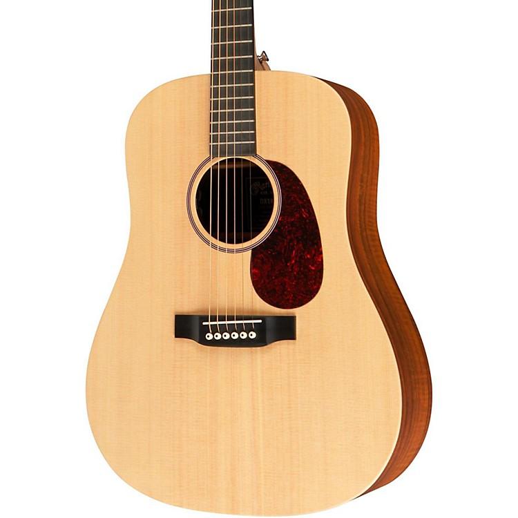 MartinX Series DX1KAE Acoustic-Electric GuitarNatural