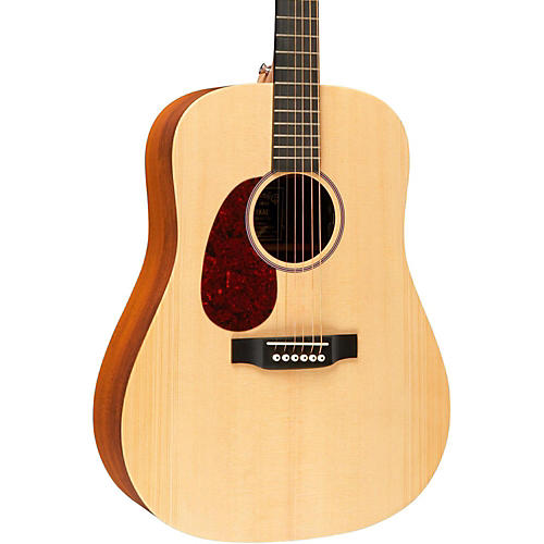 Martin X Series DX1KAE Left-Handed Acoustic-Electric Guitar Natural
