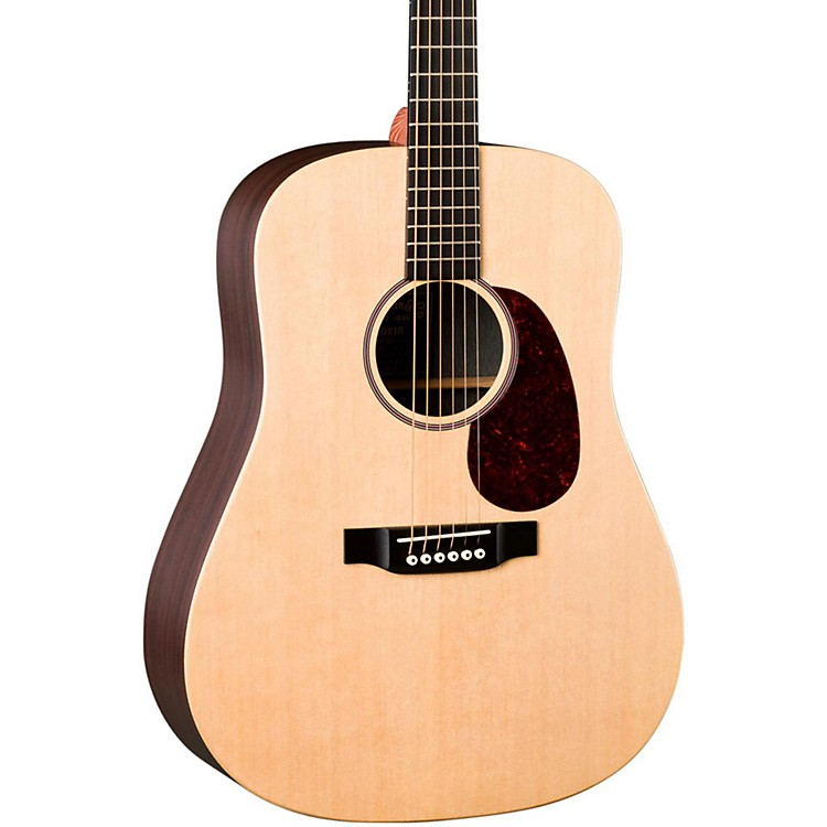 MartinX Series DX1RAE Acoustic-Electric GuitarNatural