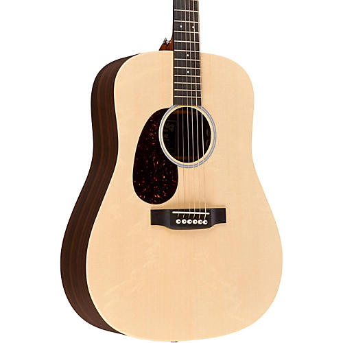 Martin X Series DX1RAE-L Dreadnought Left-Handed Acoustic-Electric Guitar-thumbnail