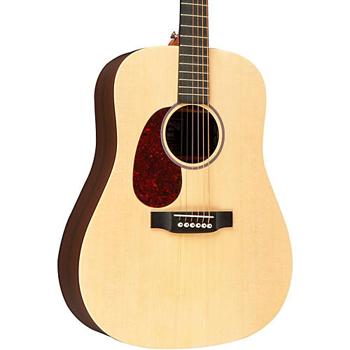 Martin X Series DX1RAE Left-Handed Acoustic-Electric Guitar Natural