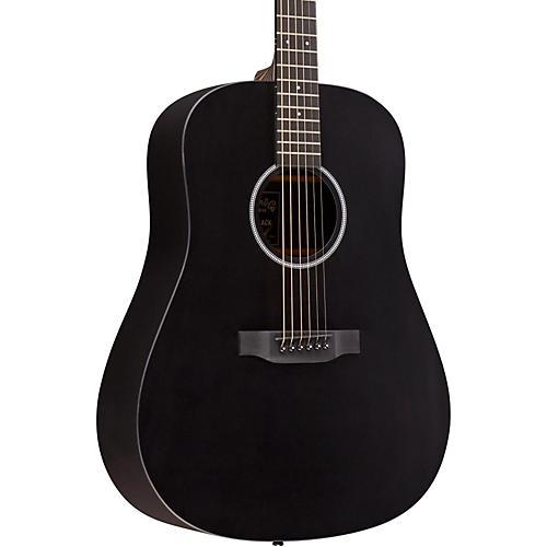 martin x series dxae dreadnought acoustic electric guitar black musician 39 s friend. Black Bedroom Furniture Sets. Home Design Ideas