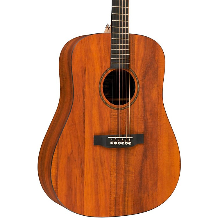Martin X Series DXK2AE Left-Handed Acoustic-Electric Guitar Natural
