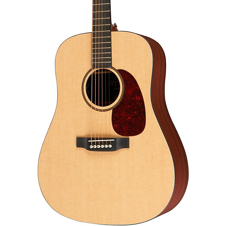 Martin X Series DXMAE Acoustic-Electric Guitar Natural