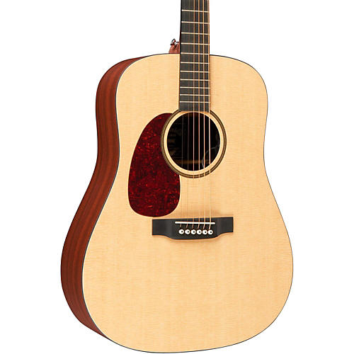 Martin X Series DXMAE Left-Handed Dreadnought Acoustic-Electric Guitar Natural