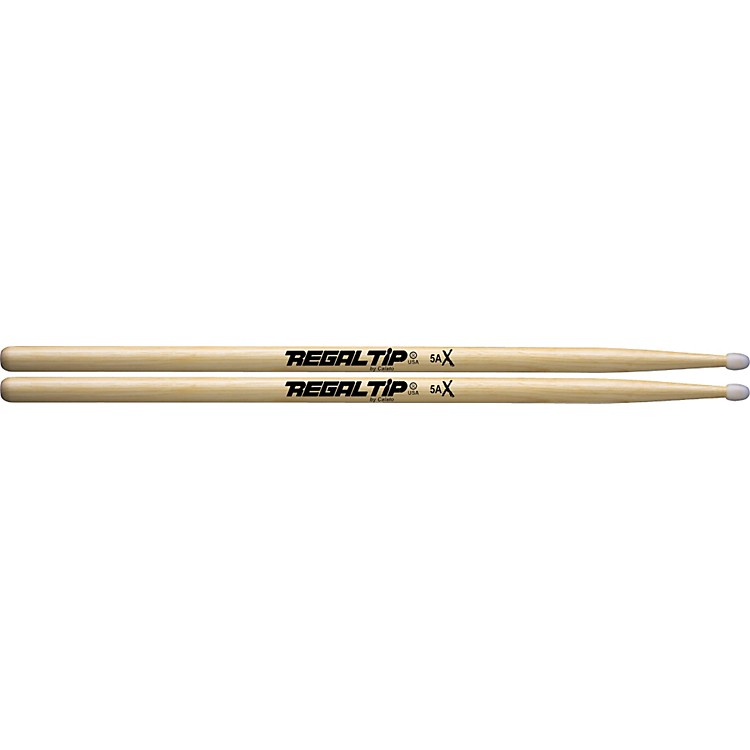 Regal Tip X Series Drumsticks 5A Nylon