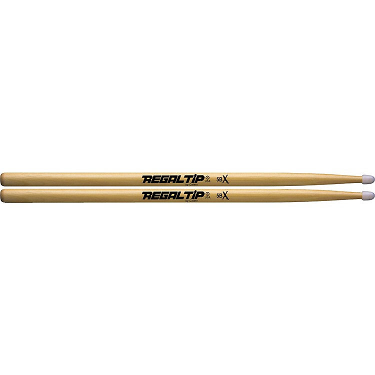 Regal Tip X Series Drumsticks 5B Nylon