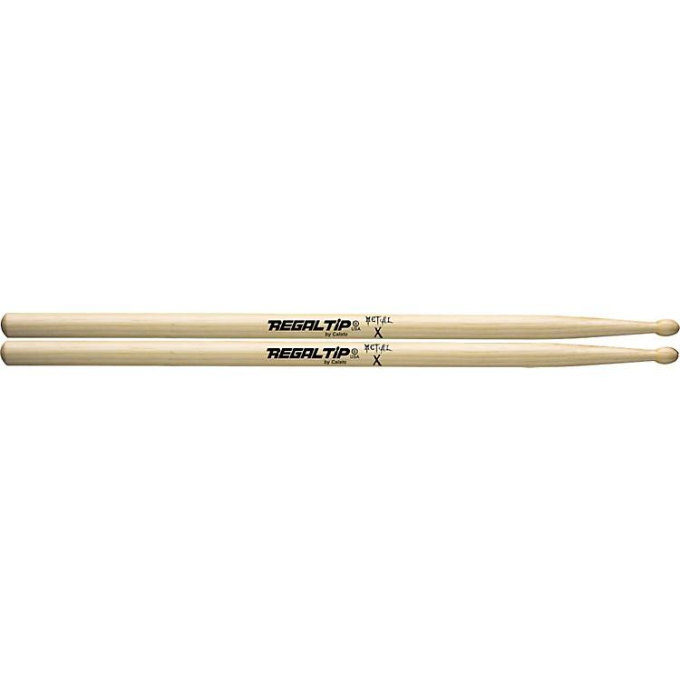 Regal TipX Series DrumsticksMetalWood