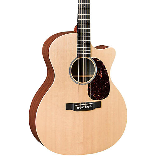 Martin X Series GPCX1AE Grand Performance Acoustic-Electric Guitar Natural