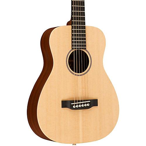 martin x series lx1e little martin acoustic electric guitar natural musician 39 s friend. Black Bedroom Furniture Sets. Home Design Ideas