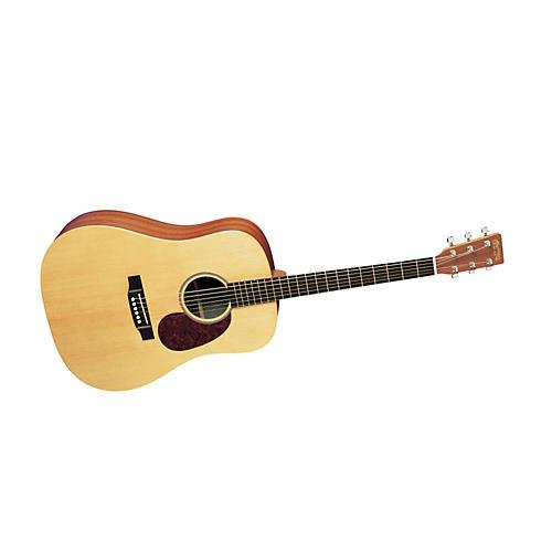 Martin X Series X1-D Custom Dreadnought Acoustic Guitar Natural