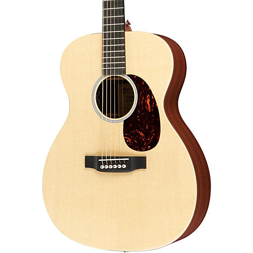 Martin X1-000E Custom Auditorium Acoustic-Electric Solid Spruce Top HPL Back & Sides Natural Solid Sitka Spruce Top