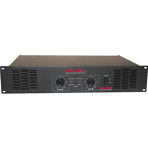 Nady XA-700 Stereo Power Amplifier-thumbnail