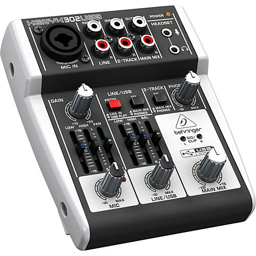 Behringer XENYX 302USB Mixer