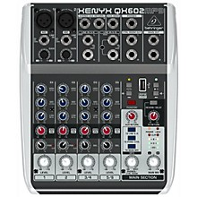 Behringer XENYX QX602MP3 6-Channel Mixer with MP3 Player