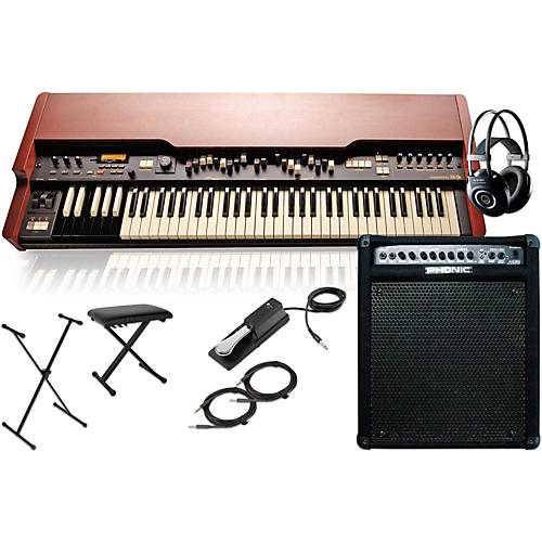 Hammond XK-3c Drawbar Organ with Keyboard Amplifier, Stand, Headphones, Bench, and Sustain Pedal-thumbnail