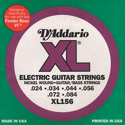D'Addario XL156 XL 6-String Guitar / Bass Strings-thumbnail