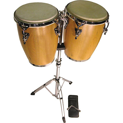Cannon Percussion XL8300 Junior Jr Congas with Stand-thumbnail