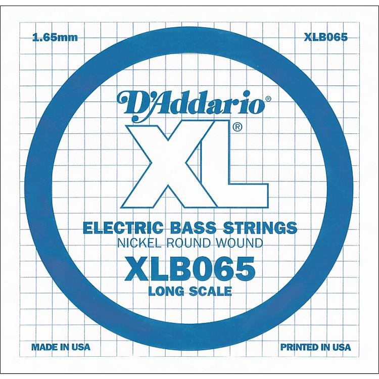 D'AddarioXLB065 Extra Long Single Bass String