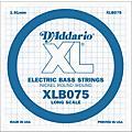 D'Addario XLB075 Extra Long Single Bass String  Thumbnail