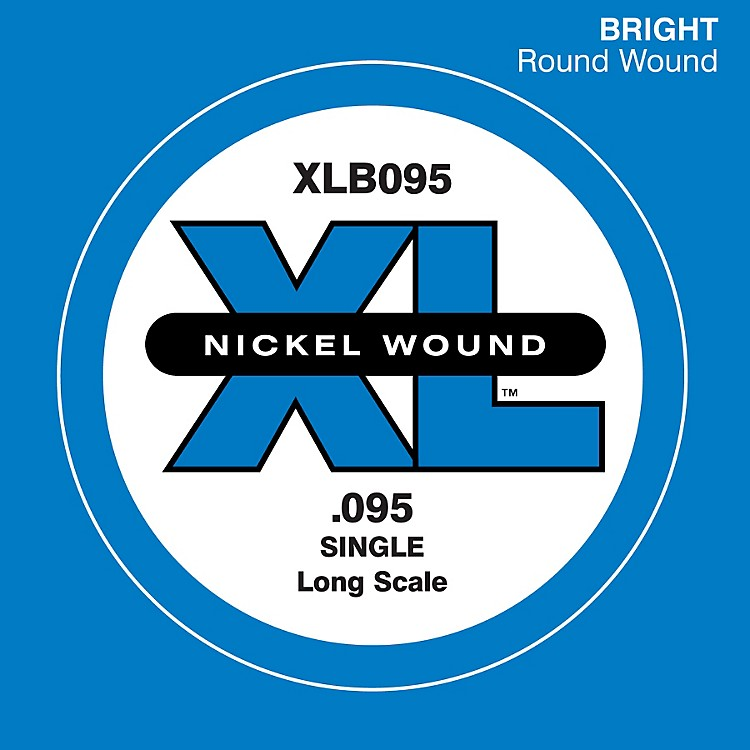 D'Addario XLB095 Extra Long Single Bass String