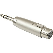 "American Recorder Technologies XLR Female to 1/4"" Male Stereo Adapter"