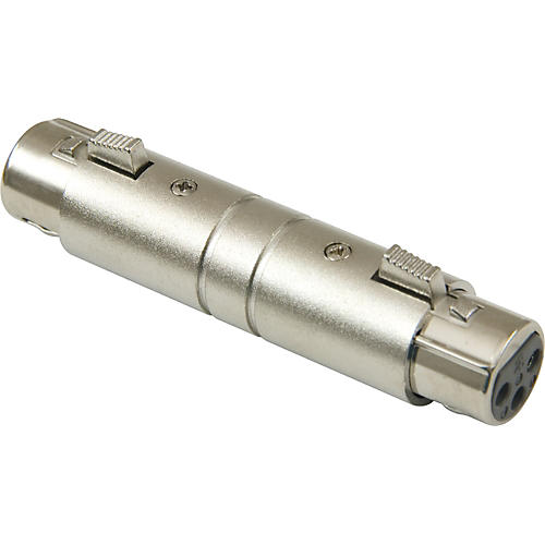 American Recorder Technologies XLR Female to XLR Female Adapter Nickel