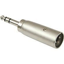 "American Recorder Technologies XLR Male to 1/4"" Male Stereo Adapter"