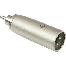 American Recorder Technologies XLR Male to RCA Male Adapter