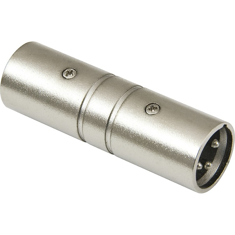 American Recorder Technologies XLR Male to XLR Male Adapter Nickel