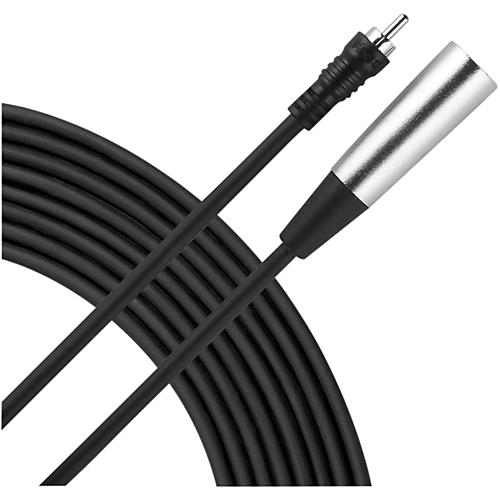 Live Wire XLR(M)-RCA Audio Cable