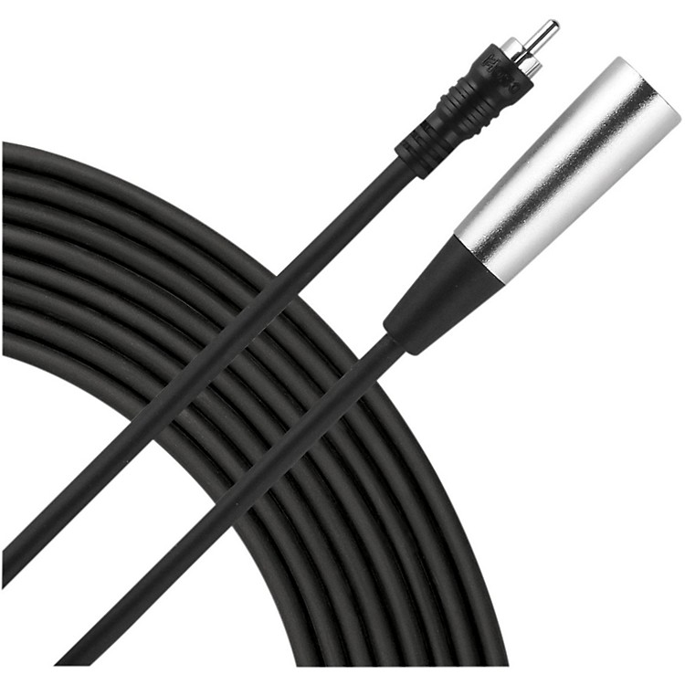 Live Wire XLR(M)-RCA Audio Cable  10 Foot