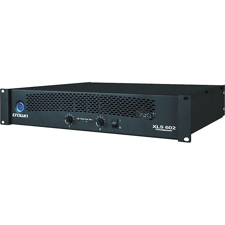 crown xls 602 power amplifier musician 39 s friend. Black Bedroom Furniture Sets. Home Design Ideas