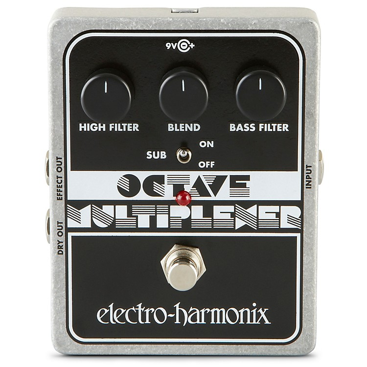 electro harmonix xo octave multiplexer guitar effects pedal musician 39 s friend. Black Bedroom Furniture Sets. Home Design Ideas