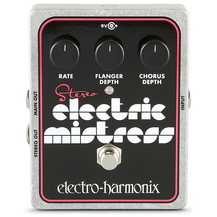 Electro-HarmonixXO Stereo Electric Mistress Flanger / Chorus Guitar Effects Pedal