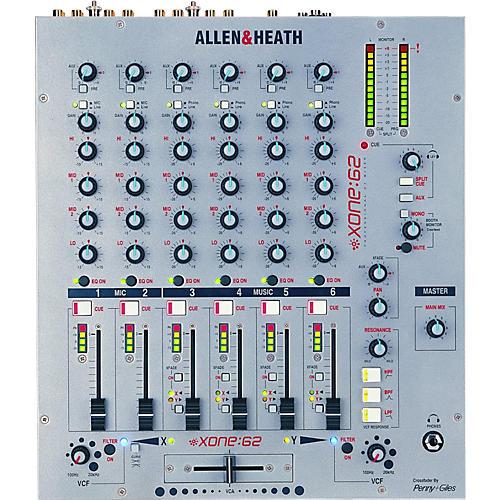 Allen & Heath XONE:62 12 INPUT PRO DJ MIXER