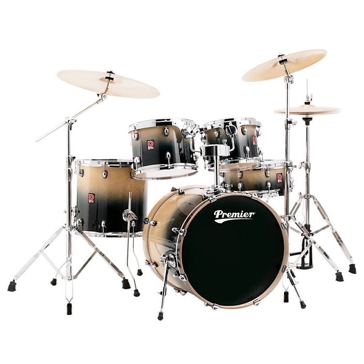 Premier XPK Stage 20 Lacquer 5-Piece Shell Pack Natural Fade