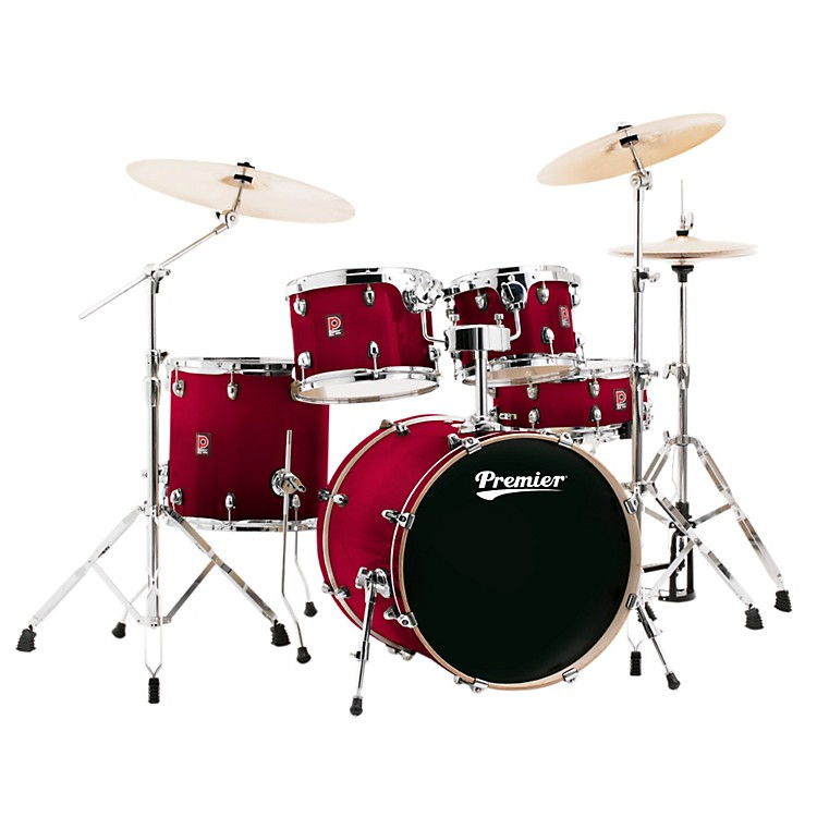 Premier XPK Stage 20 Lacquer 5-Piece Shell Pack Trans Ruby