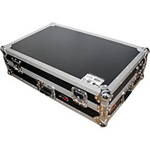 ProX XS-DJRXWLT ATA Style Flight Road Case with Sliding Laptop Shelf and Wheels for XDJ-RX DJ Controller Black/Chrome