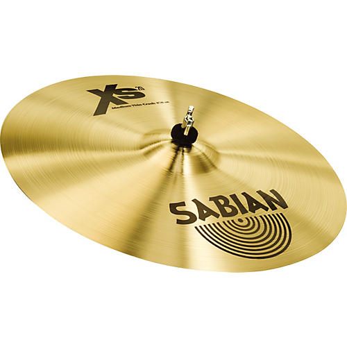 Sabian XS20 Medium Thin Crash Cymbal, Brilliant 16 in.