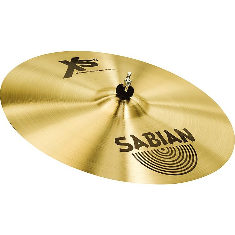 SabianXS20 Medium Thin Crash Cymbal, Brilliant18 Inch
