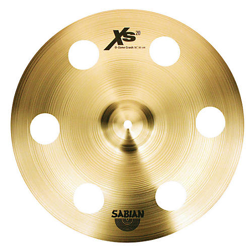 Sabian XS20 Ozone Crash Cymbal with Free Basic Cymbal Bag