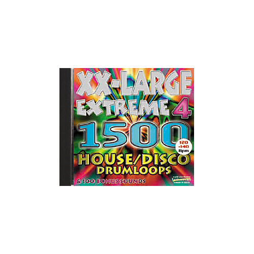 EastWest XX-Large Extreme 4/House-Disco CD-ROM Akai/Emu