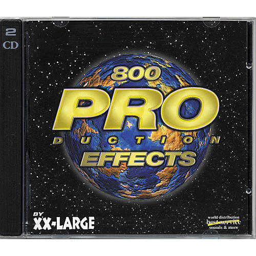 EastWest XX-Large Production Effects CD Audio-thumbnail